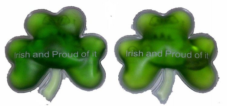 Irish Shamrock Hand Warmers Set of 2
