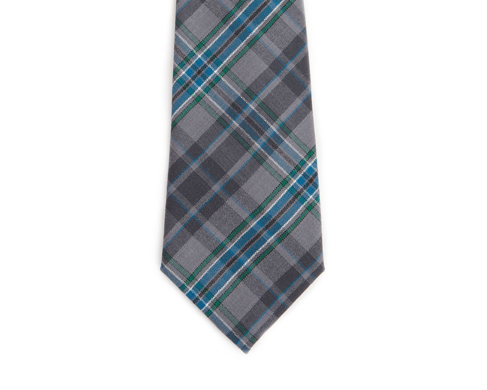 Giants Causeway Tartan Pure New Wool Tie