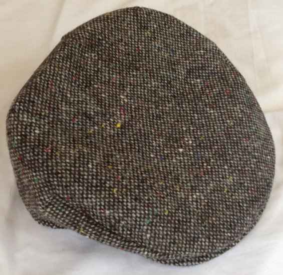 The Plain Tweed Cap