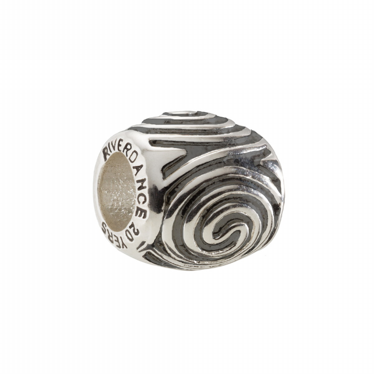 Official Riverdance20 Celtic Spirals Charm Bead