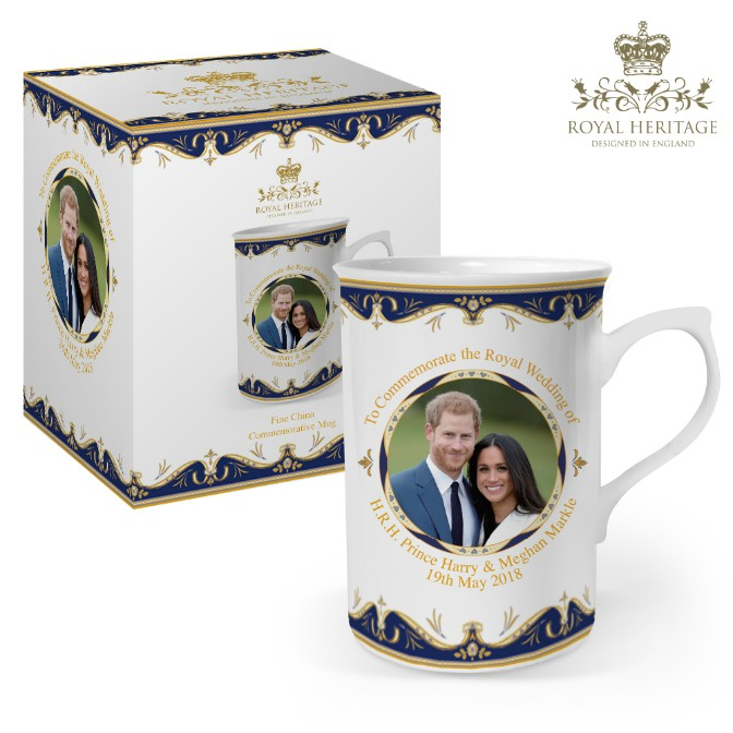 Prince Harry and Meghan Markle Fine China Mug