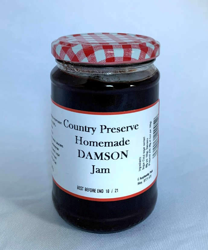 Country Preserve Homemade Damson Jam 340g