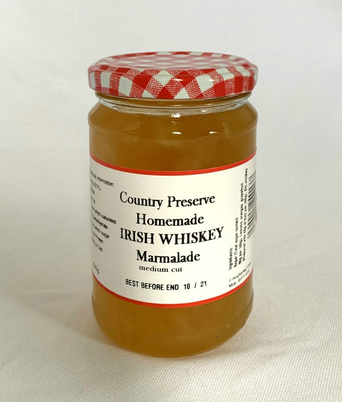 Country Preserve Homemade Irish Whiskey Marmalade 340g