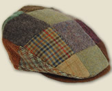 Irish Donegal Tweed Caps & Bags