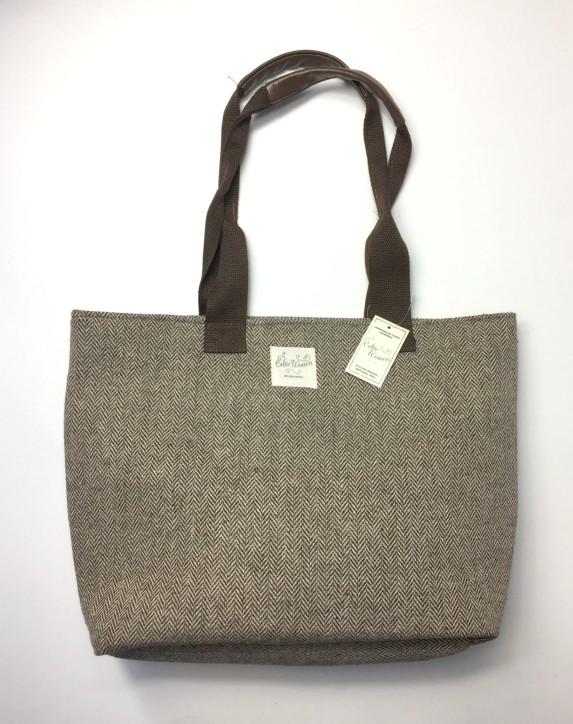 Herringbone Tweed Handbag by Celtic Weavers