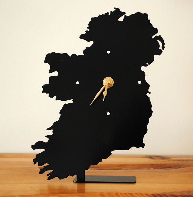 *Metal Clocks Made in Ireland
