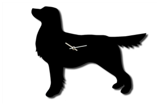 Retriever Battery Operated Wall Clock