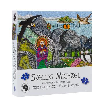 Skellig Michael - 500 Piece Jigsaw Puzzle