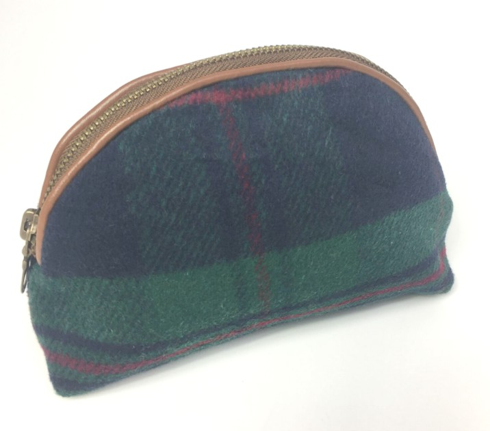 Tweed Green Purse by Celtic Weavers