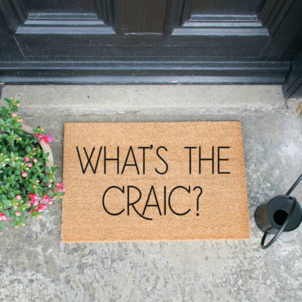 What's The Craic Doormat - Click Image to Close