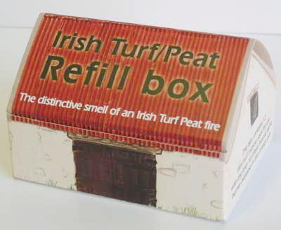 Irish Gifts Peat Turf Fire Dvd With Incense Cones